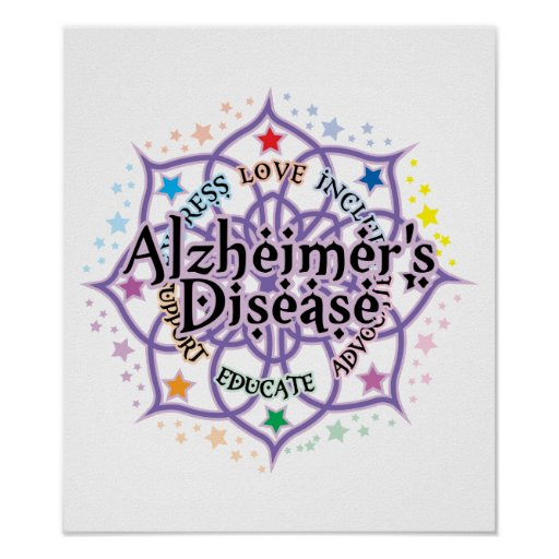Alzheimers Lotus Posters
