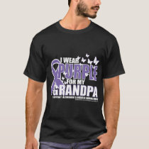 Alzheimers: Purple For GRANDPA T-Shirt