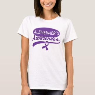 Alzheimer's Purple Ribbon Awareness Tee