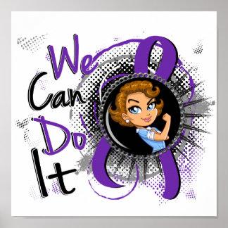 Alzheimer's Rosie Cartoon WCDI Poster
