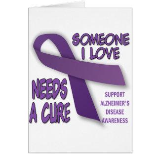 Alzheimer's Support Card