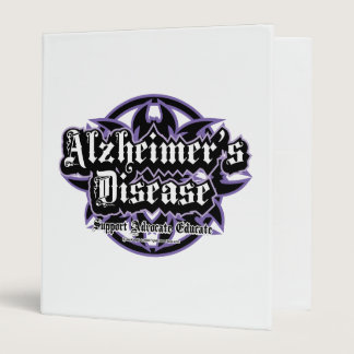 Alzheimers Tribal 3 Ring Binder