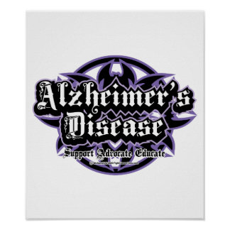 Alzheimers Tribal Print