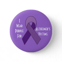 Alzheimer's victims purple pin