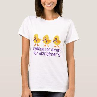 Alzheimers Walk Chick design T-Shirt