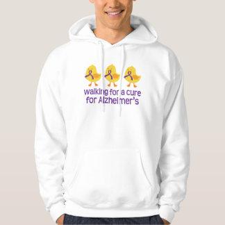Alzheimers Walk Chick Hoodie