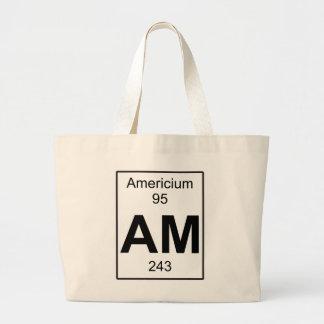 Am - Americium Large Tote Bag