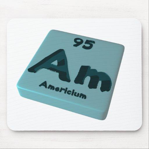 Am Americium Mousepad