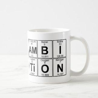 Am-B-I-Ti-O-N (ambition) - Full Classic White Coffee Mug