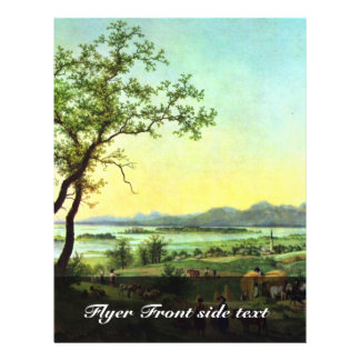Am Chiemsee By Hess Peter Von (Best Quality) Flyers