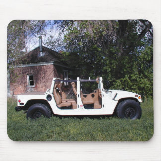 AM General Hummer H1 Mouse Pad