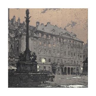 Am Hof Vienna 1904 Stretched Canvas Prints