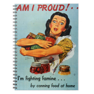 """Am I Proud"" 1940s notebook"