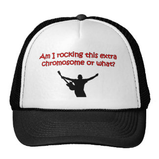 Am I rocking this extra chromosome or what? Trucker Hat