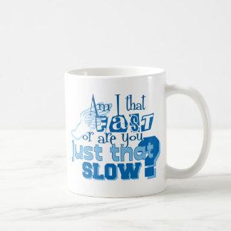 Am I that fast Coffee Mug