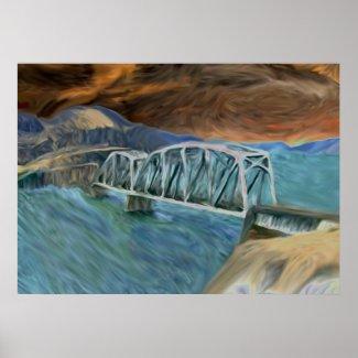 Am I The Bridge? print