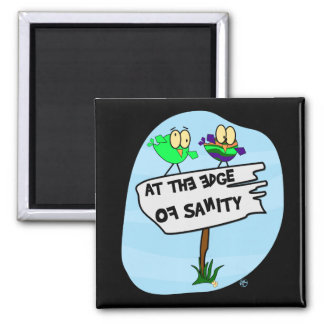 Am I There Yet? 2 Inch Square Magnet