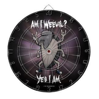Am I Weevil Heavy Metal Cartoon Dartboards