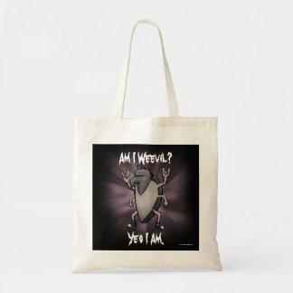 Am I Weevil Heavy Metal Cartoon Tote Bag