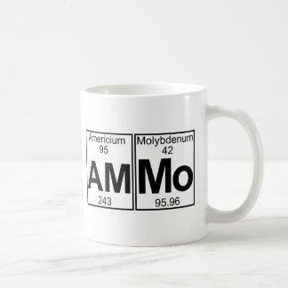 Am-mo (ammo) - Full Classic White Coffee Mug