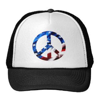 am peace trucker hat