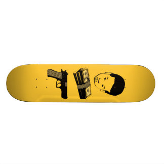 "AM Radio ""Alluneed"" Skateboard"