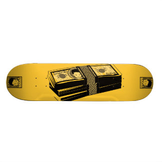 "AM Radio ""Bone Money"" Skateboard"