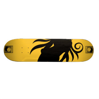 "AM Radio ""Bonefeather"" Skate Boards"
