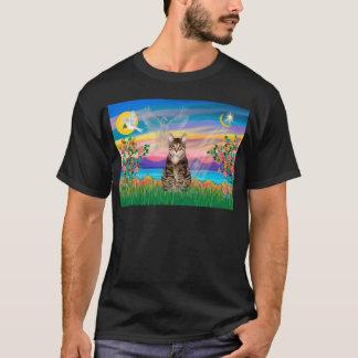 Am. SH Tabby Tiger Cat - Guardian Angel (#2) T-Shirt