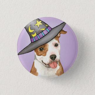 Am Staff Witch Button