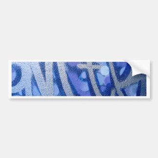 aM-tR Blue Car Bumper Sticker