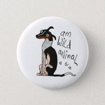 Am Wild Animal Button