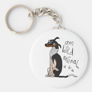 Am Wild Animal Keychain