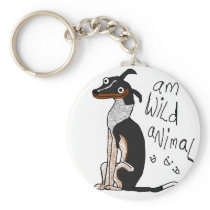 Am Wild Animal Keychain