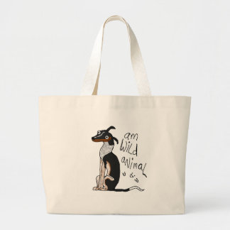 Am Wild Animal Large Tote Bag