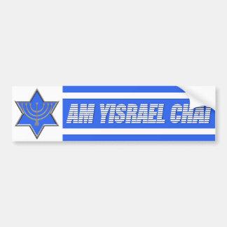 Am Yisrael Chai Car Bumper Sticker