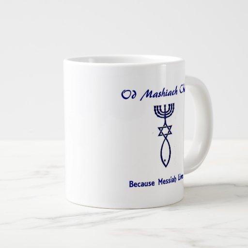 Am Yisrael Chai -- Mashiach Messianic Mug Jumbo Mug