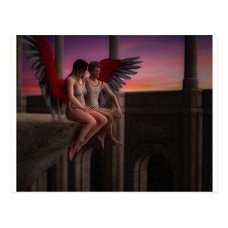 Am your angel postcard