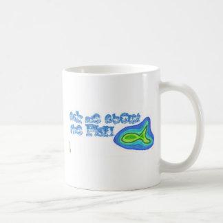 ama, ask me about the fish coffee mug
