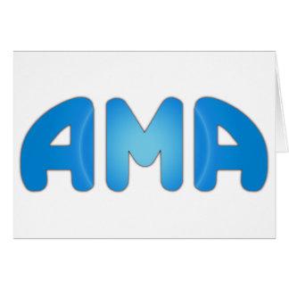 AMA CARD