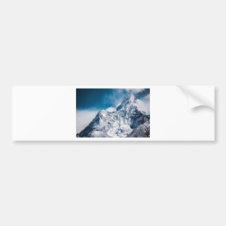 ama dablam Himalaya abstract mountains Bumper Sticker