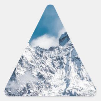 ama dablam Himalaya abstract mountains Triangle Sticker