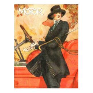 Ama de casa de hoy tarjeta postal