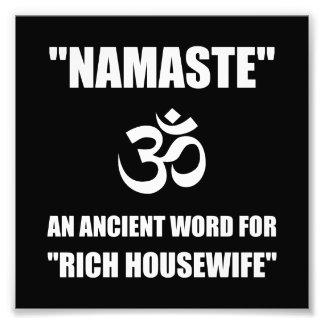 Ama de casa de los ricos de Namaste Fotografías