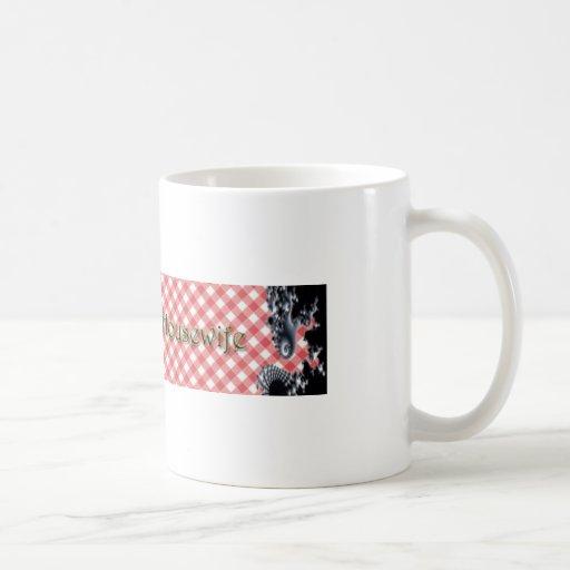 Ama de casa psicodélica taza de café