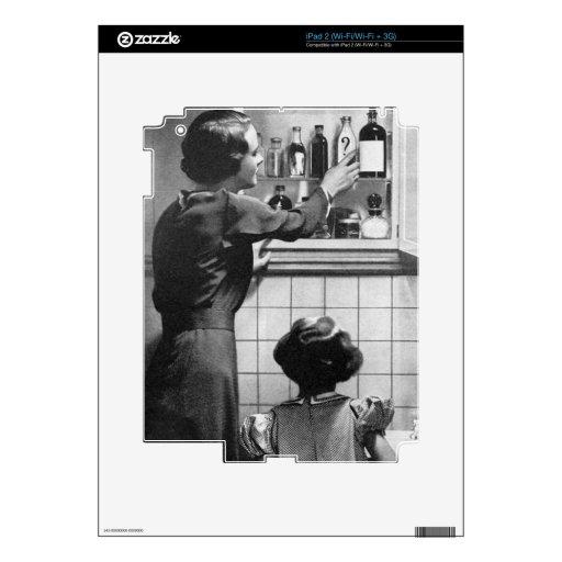 Ama de casa retra skin para el iPad 2
