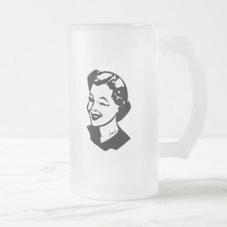 Ama de casa tatuada - insana taza de cristal