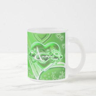 Ama Frosted Glass Coffee Mug