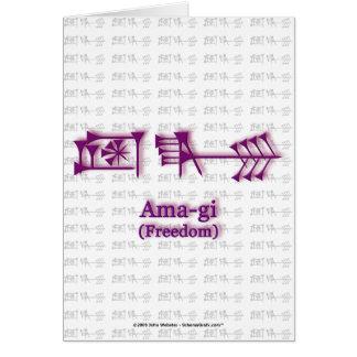 Ama-gi2 Card