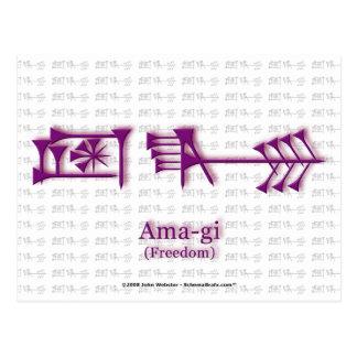 Ama-gi2 Postcard